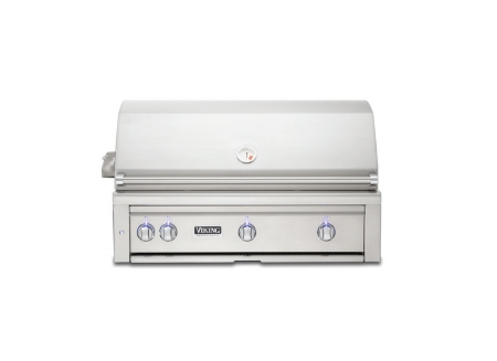Viking 42 built in stainless gas grill vqgi5420lss for Viking professional outdoor grill