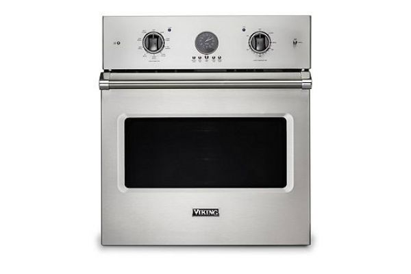 """Viking 27"""" Professional 5 Series Stainless Steel Premiere Single Wall Oven - VSOE527SS"""
