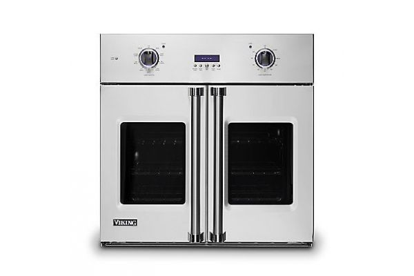 """Large image of Viking 30"""" Professional 7 Series Stainless Steel French Door Single Wall Oven - VSOF7301SS"""