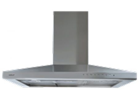 """Wolf 36"""" Stainless Steel Cooktop Wall Hood - VW36S"""