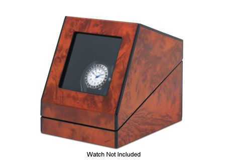 Orbita Siena One Rotorwind Burl Watch Winder  - W08580