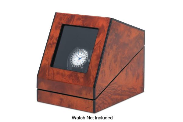 Orbita Siena One Rotorwind Burl Watch Winder - W08580
