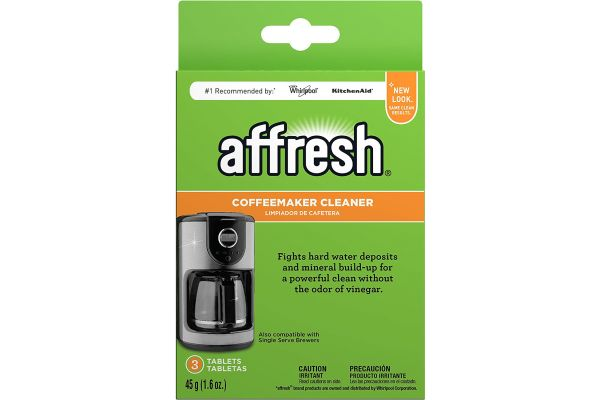 Large image of Whirlpool Affresh Coffeemaker Cleaner - W10355052