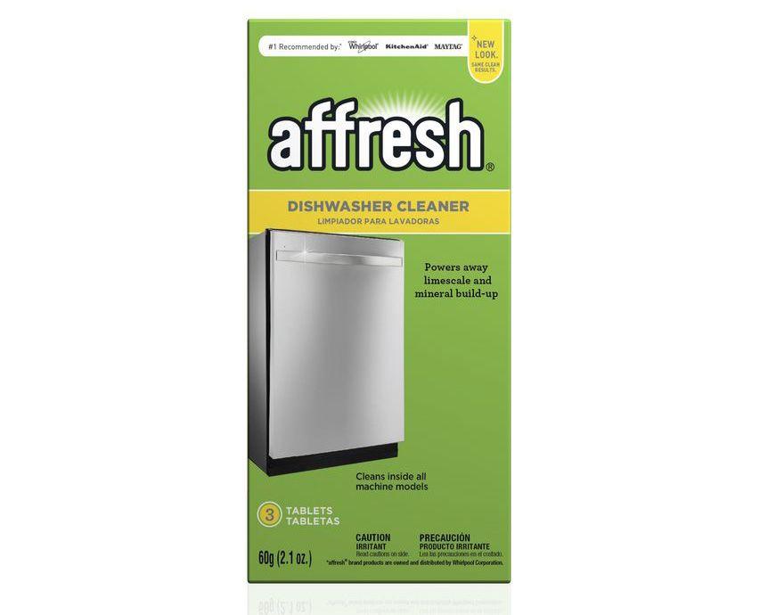 Whirlpool Affresh 3 Tablet Dishwasher Cleaner W10549850