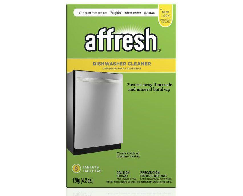 Whirlpool Affresh 6 Tablets Dishwasher Cleaner W10549851