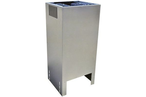 Large image of Whirlpool Stainless Steel Chimney Hood Extension Kit - W10685947