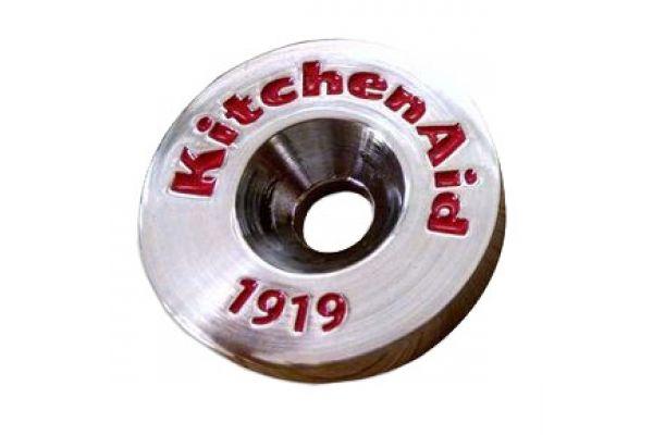 Large image of KitchenAid Chrome Handle Medallions - W10846205