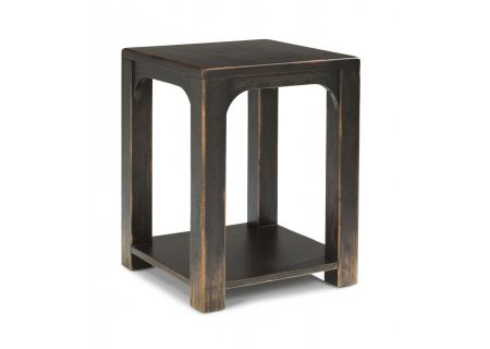 Flexsteel Homestead Subtle Black Chairside Table - W1437-07