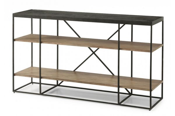 Large image of Flexsteel Carmen Sofa Table - W1446-04