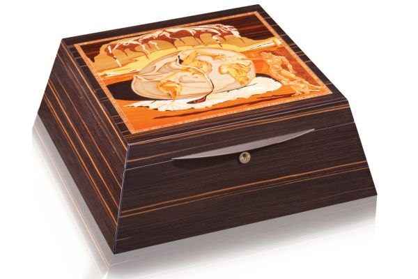 Large image of Orbita Giglio Three Artisan Dali Birth Of The New Man Rotorwind Watch Winder - W20056