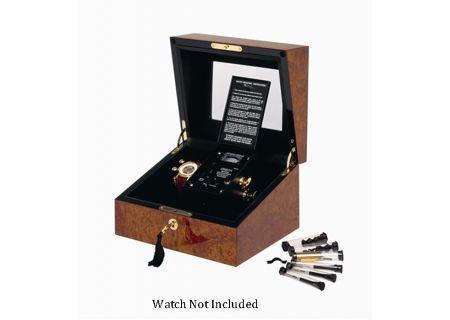 Orbita Sempre One Burl Leather Watch Winder - W31001