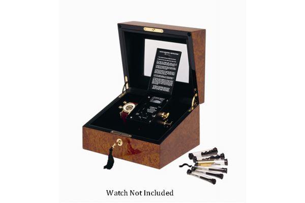 Large image of Orbita Sempre One Burl Leather Watch Winder - W31001