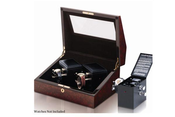 Large image of Orbita Sempre Two Burl Mechanical Watch Winder - W31002