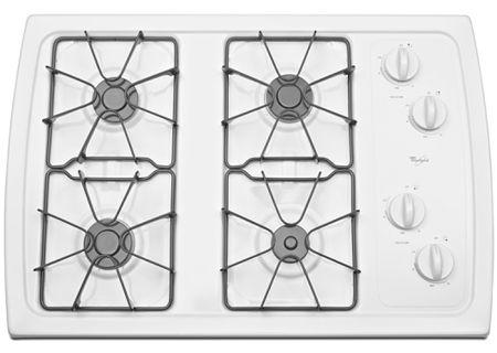 Whirlpool - W3CG3014XW - Gas Cooktops
