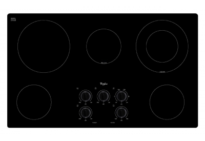 Whirlpool - W5CE3625AB - Electric Cooktops