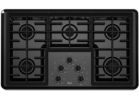 Whirlpool - W5CG3625XB - Gas Cooktops