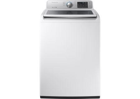 Samsung White Top Load Washer - WA45M7050AW