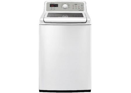 Samsung WA5451ANW 4.7 Cu Ft Capacity White Top Loading Washer - WA5451ANW