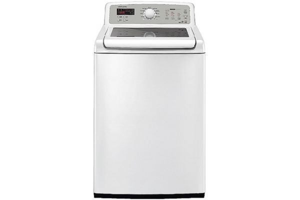 Samsung WA5451ANW 4.7 Cu Ft Capacity White Top Loading Washer - WA5451ANW