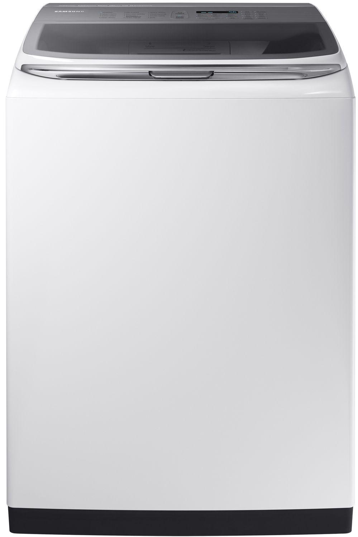 Samsung White Activewash Top Load Washer Wa54m8750aw