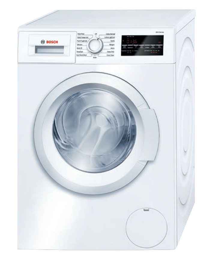 "Best Top Loading Washing Machine >> Bosch 24"" 300 Front Loading Compact Washer - WAT28400UC"