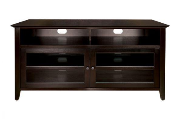 BellO Dark Espresso Audio/Video Cabinet - WAVS99152