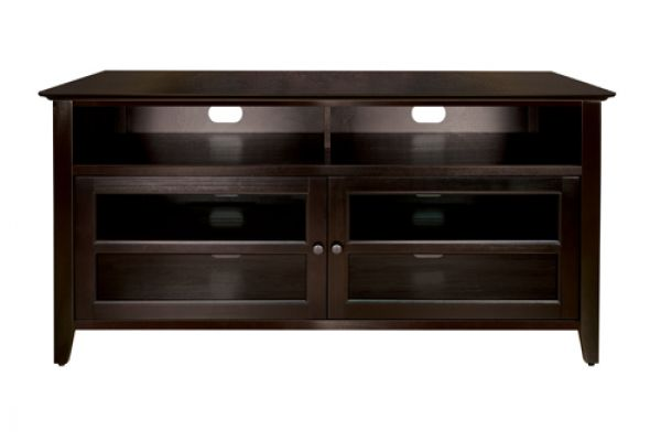 Large image of BellO Dark Espresso Audio/Video Cabinet - WAVS99152