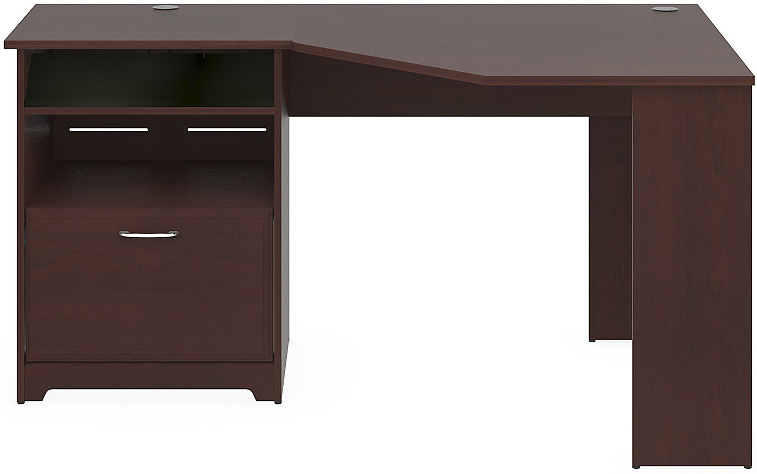 Bush Furniture Cabot Cherry Corner Desk Wc31415 03