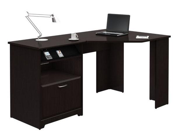 Bush Furniture Cabot Corner Desk Oak Wc31815 03