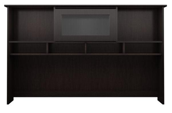 Bush Furniture Cabot 60 Quot Hutch Espresso Oak Wc31831 03