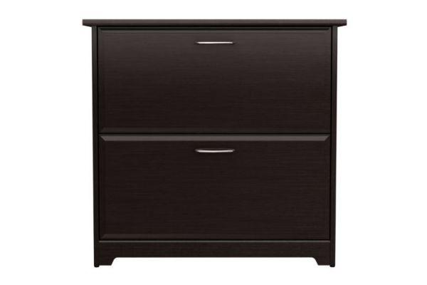 Large image of Bush Furniture Cabot Lateral File in Espresso Oak  - WC31880-03