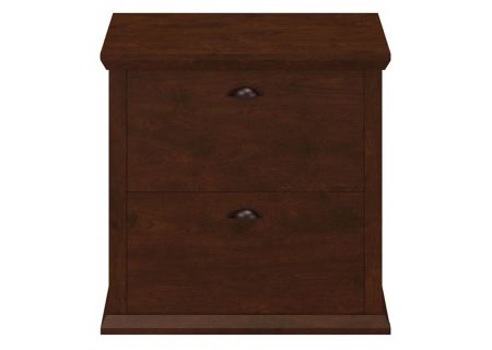 Bush Furniture Antique Cherry Yorktown Collection 31W Lateral File - WC40380-03