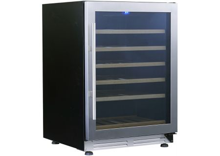 "Avanti 24"" Stainless Steel Designer Series Wine Chiller - WCF51S3SS"