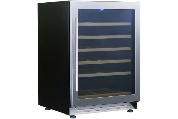 """Large image of Avanti Designer Series 24"""" Stainless Frame Wine Chiller With Seamless Door - WCF51S3SS"""