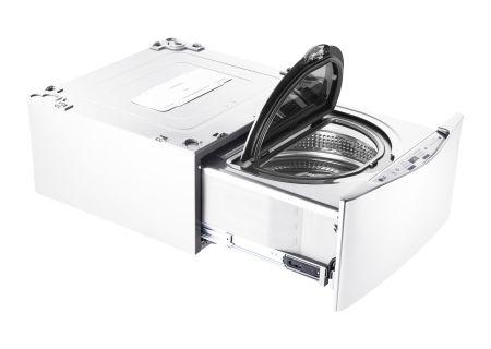 "LG 27"" SideKick White Pedestal Washer - WD100CW"
