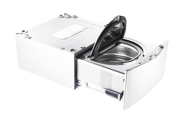 "Large image of LG 27"" SideKick White Pedestal Washer - WD100CW"