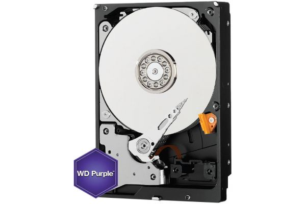 Large image of Western Digital Purple 4TB Surveillance Internal Hard Drive - WD40PURZSP