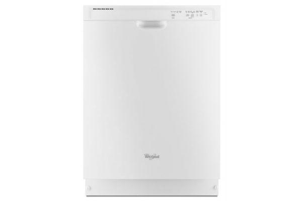 Whirlpool White Built-In Dishwasher - WDF520PADW