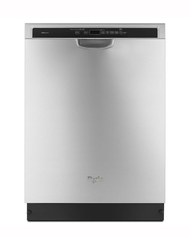 Whirlpool Gold Stainless Steel Dishwasher Wdf760sadm
