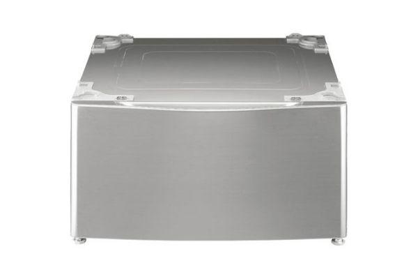 """Large image of LG 14"""" Graphite Washer Dryer Pedestal & Storage - WDP4V"""