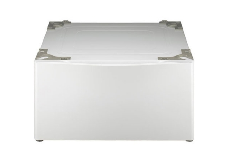 "LG 14"" White Washer Or Dryer Pedestal And Drawer - WDP4WH"