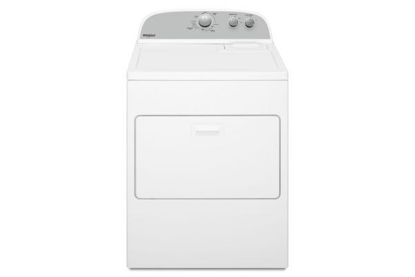 Large image of Whirlpool 7.0 Cu. Ft. White Electric Dryer - WED4950HW