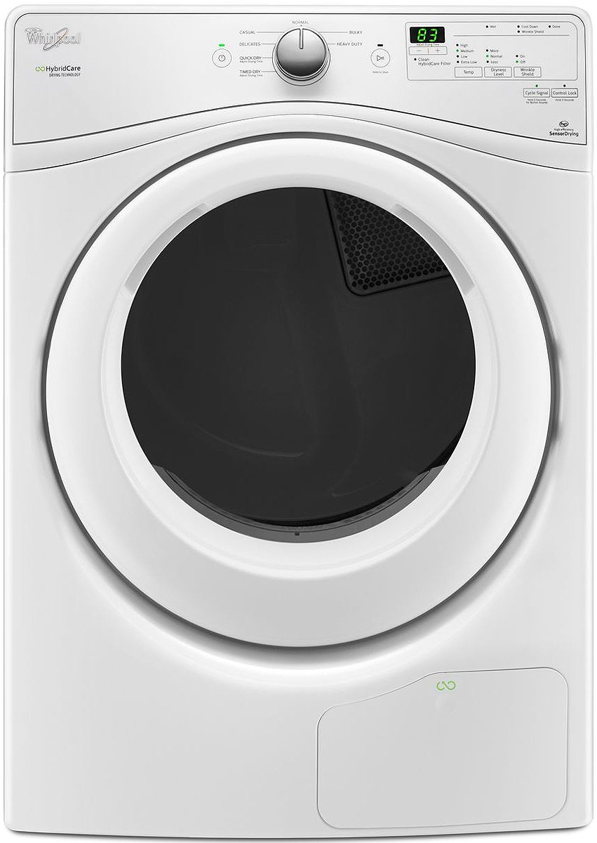 Whirlpool Duet White Ventless Electric Dryer WED7990FW