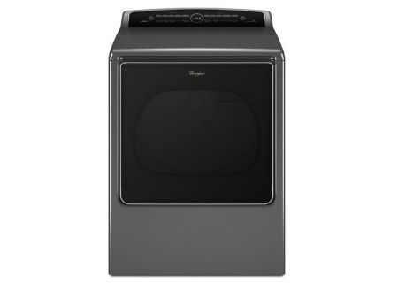 Whirlpool 8.8 Cu. Ft. Chrome Shadow Carbio High-Efficiency Electric Steam Dryer  - WED8500DC