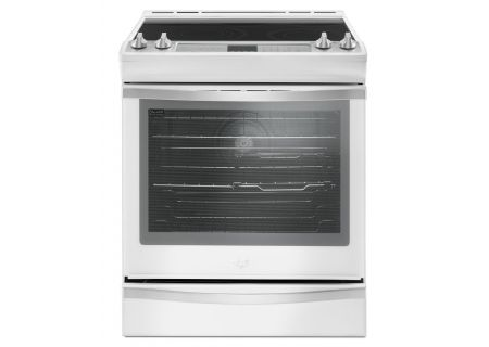 Whirlpool 6.4 Cu. Ft. White Slide-In Electric Range - WEE745H0FH