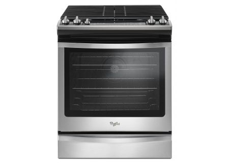 Whirlpool Stainless Steel Slide-In Gas Range - WEG745H0FS