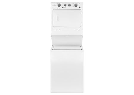 Whirlpool - WET4027HW - Stacked Washer Dryer Units