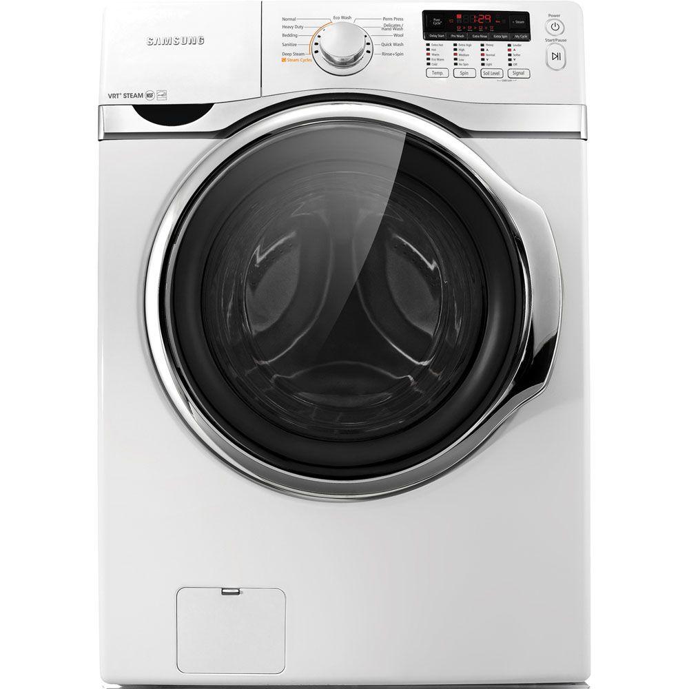 Samsung 3 9cuft white front load washer wf393btpawr a1 abt for Samsung front load washer motor