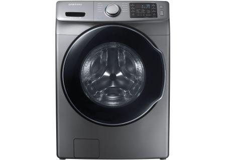 Samsung - WF45M5500AP - Front Load Washing Machines