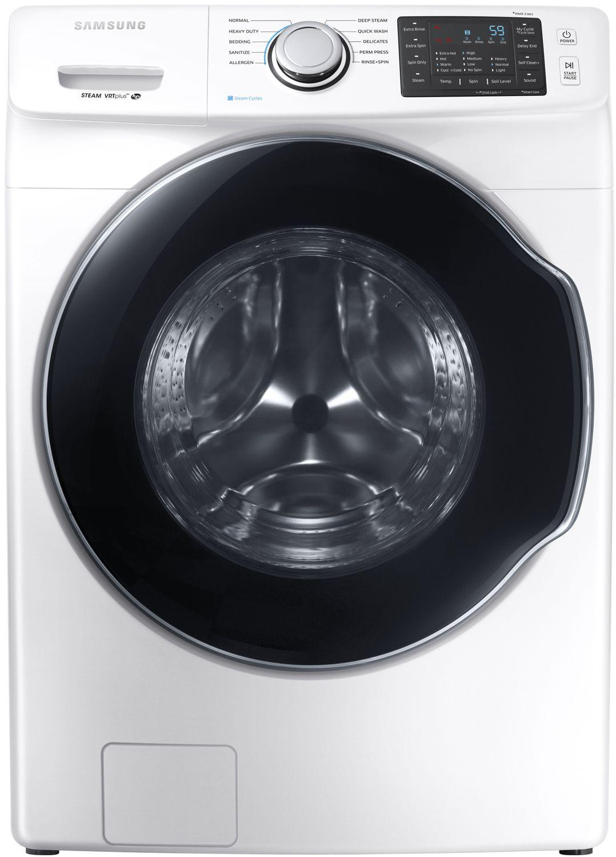 Samsung White Front Load Steam Washer